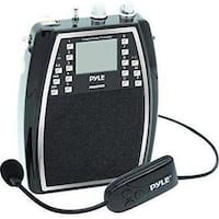 Pyle PWMA85UFM Portable Microphone & Amplifier PA Speaker System