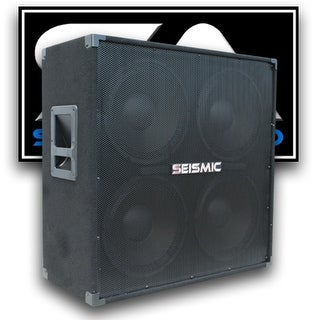 Seismic Audio 412 GUITAR SPEAKER CABINET~ 4x12 400 W. PA/DJ PRO AUDIO