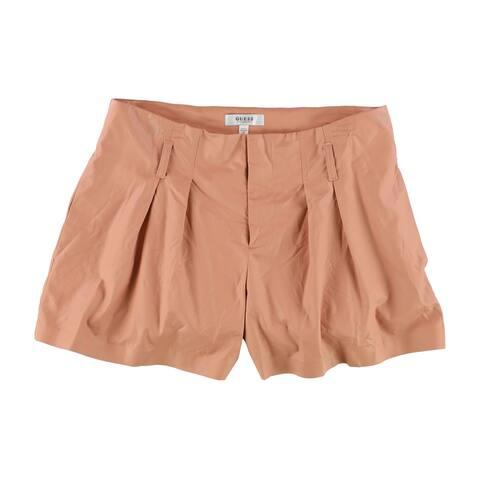 GUESS Womens Hex Casual Walking Shorts, pink, 10