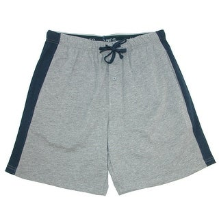 Link to Hanes Men's Big and Tall Knit Sleep Shorts with Side Panel Similar Items in Loungewear