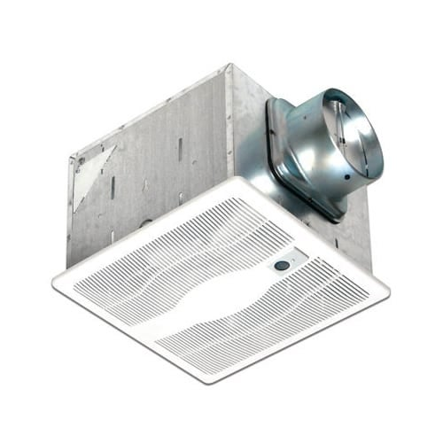 Air King E130S 130 CFM 0.3 Sones Single Speed Exhaust Fan with BOOST Setting and Energy Star Rating from the Eco Exhaust Sensing