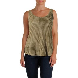 Polo Ralph Lauren Womens Strappy Scoop Neck Pullover Sweater