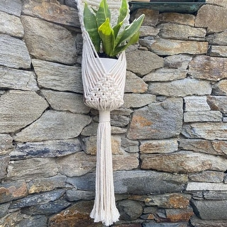 "Link to 33""L Macrame Plant Hanger Similar Items in Planters, Hangers & Stands"