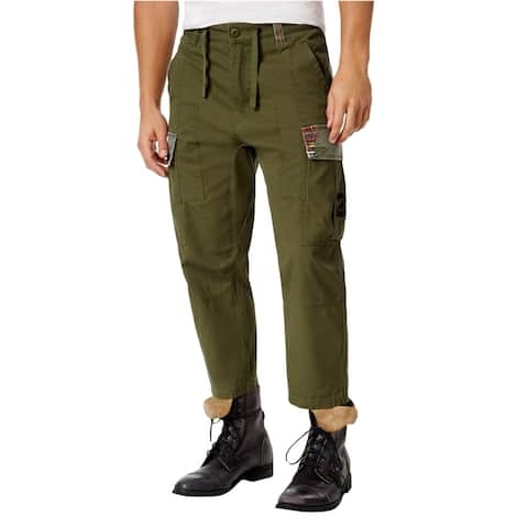 Lrg Mens Tapered Casual Cargo Pants