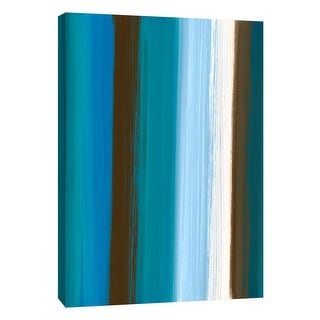 "PTM Images 9-108976  PTM Canvas Collection 10"" x 8"" - ""Stripes 1"" Giclee Abstract Art Print on Canvas"