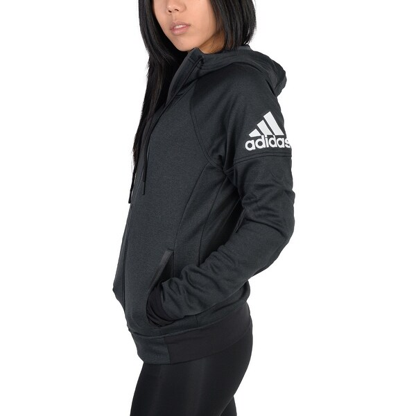 ab510896f23d Adidas Womens Adidas Infinite Series Daybreaker Hoodie Black - black matte  black - S
