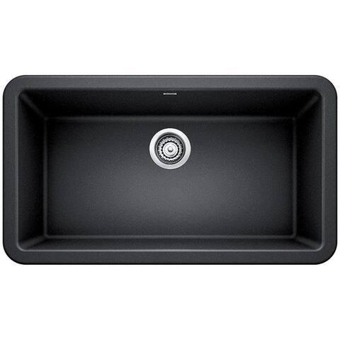 "Blanco 401899 Ikon 33"" Farmhouse Single Basin SILGRANIT Kitchen Sink"