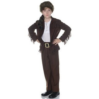 Underwraps Frontier Man Child Costume - Brown/White
