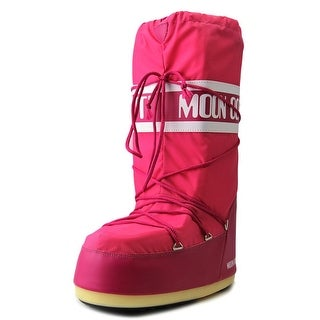 Tecnica Moon Boot Round Toe Canvas Snow Boot