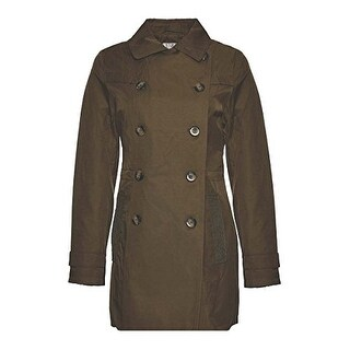 Women's Trench Coat with Lace Detail (2 options available)
