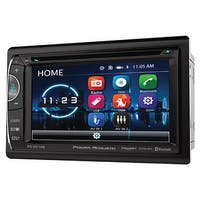 "Power Acoustik 6.2"" D.Din AM/FM/CD/DVD/USB/BT SiriusXM ready"