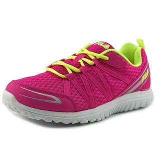 Fila Flyver Youth Round Toe Synthetic Pink Running Shoe
