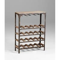 "Cyan Design 4978 34"" Gallatin Wine Rack Wine Rack"