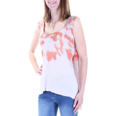 WE THE FREE Womens Coral Sleeveless Jewel Neck Top Size XS