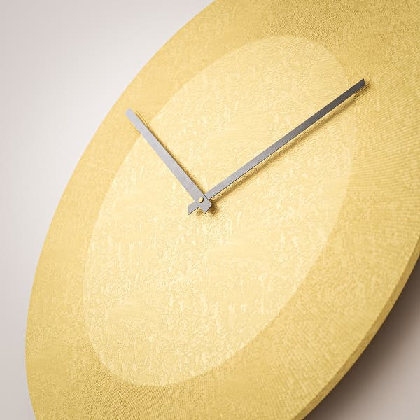 Phelt Contemporary Round Wall Clock 15 X 15 Overstock 32077162