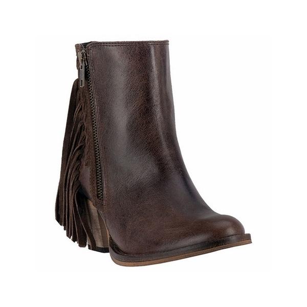 Dingo Western Boots Womens Fringe Izzy Fashion Brown Black