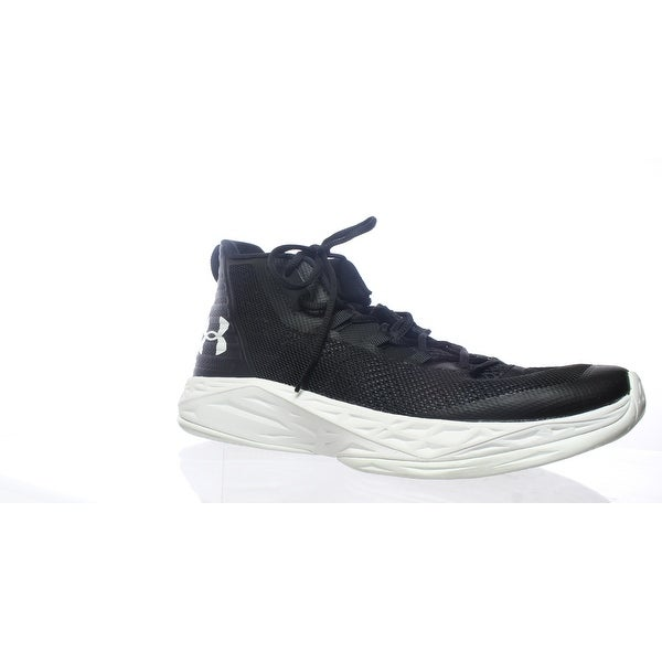 f0919502515fce Shop Under Armour Mens Jet Mid Black Basketball Shoes Size 12 - Free ...