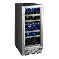 Phiestina 15'' Built-in or Free-standing 29 Bottle Wine Cooler Refrigerator