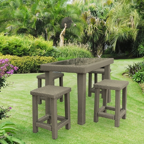 Kenwick 5 Piece Backless Dining Set. Opens flyout.