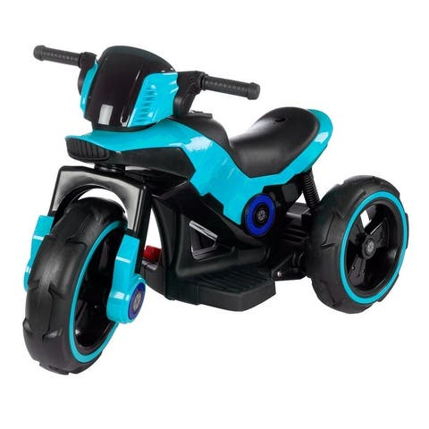 Lil' Rider Ride On Toy Trike Motorcycle, Battery Operated
