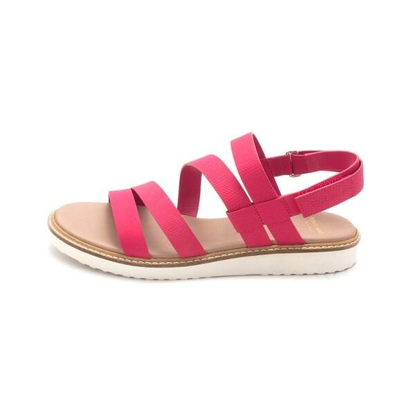 Cole Haan Womens Nicholesam Open Toe Casual Slingback Sandals - 6