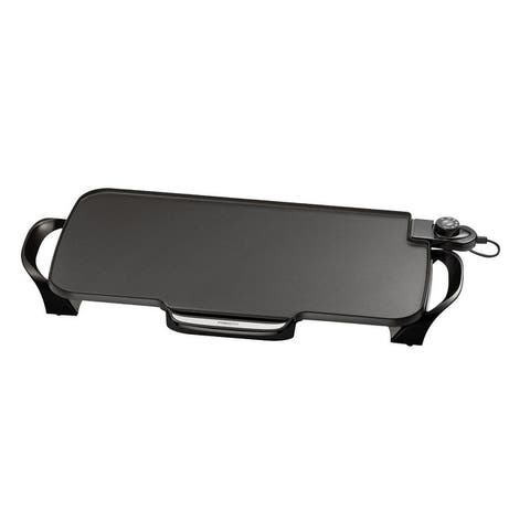 """Presto 07061 Electric Griddle With Removable Handles, 22"""", 1500 Watts"""
