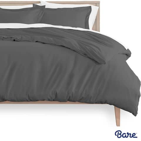 Bare Home Ultra-Soft Hypoallergenic Microfiber Duvet Cover & Sham Set