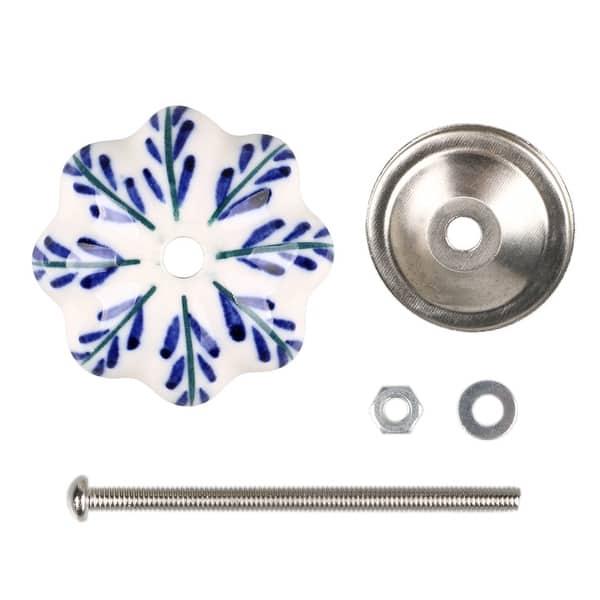 Multi Colored Floral Handmade Designer Ceramic KnobsHand painted Ceramic KnobsCupboard Knobs Cabinet Knobs Drawer pulls Door Knobs