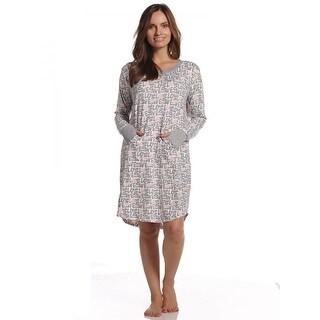 Rene Rofe Women's Love Heart Comfy Cozy Sleepshirt