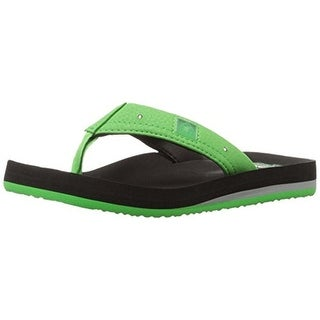 Reef Boys Ahi Lights Flip Flops Light Up