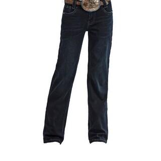 Cruel Girl Western Jeans Girls Lucy Reg Bootcut Dark Rinse