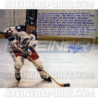 Mike Eruzione 16x20 Story Photo