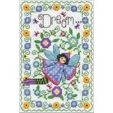 """5""""X7"""" 14 Count - Dream Fairy Counted Cross Stitch Kit"""