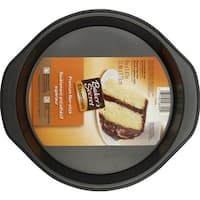 "Baker's Secret 1114439 Round Cake Pan, 9"" x 1.47"""
