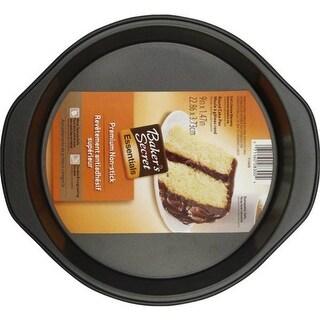 "Baker's Secret 1114439 Round Cake Pan, 9"" x 1.47"""