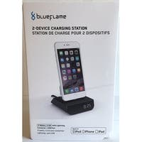 BlueFlame BF3095K-US 2-Device Charging Station for Apple Devices