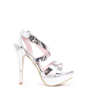Strappy Mirror Platform Pump