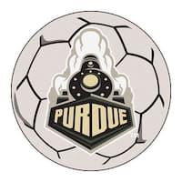 Purdue University Boilermakers Soccer Ball Rug