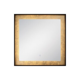 """Eurofase Lighting 33829 32"""" x 32"""" Square Flat Lighted Vanity Mirror with Customi - N/A"""