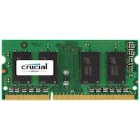 Crucial 32GB Kit (16GBx2) DDR3/DDR3L 1600 MT/s (PC3L-12800) Unbuffered SODIMM 204-Pin Memory - CT2KIT204864BF160B Crucial 32GB