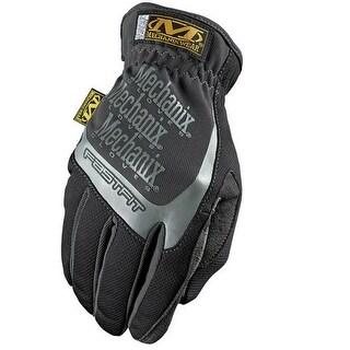 Mechanix Wear MFF-05-530 Women's FastFit Work Gloves, Large, Black/Gray