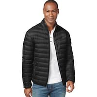 INC International Concepts Down Fill Jacket Small S Black Packable