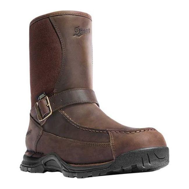 "Danner Men's Sharptail Rear-Zip GORE-TEX 10"" Boot Brown Full Grain Leather/Nylon"