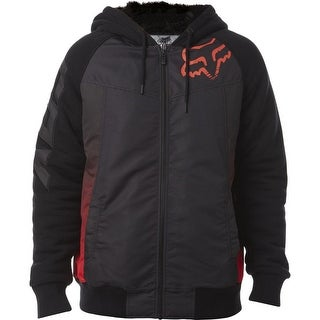Fox Racing 2016 Men's Dispatched Sasquatch Zip Fleece - 17612 - Black