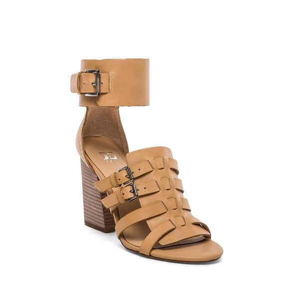 Joe's Jeans Womens Marley Leather Open Toe Casual Strappy Sandals - 8.5