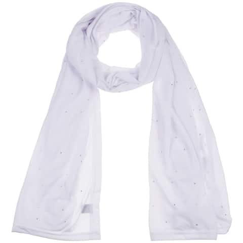 Women's Jersey Rhinestones scarves long plain scarf wrap shawls hijab