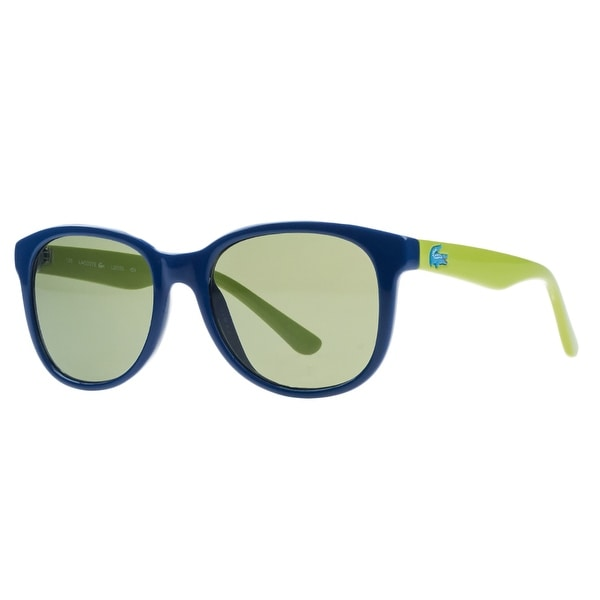 200550aa22b Shop Lacoste L3603 S 424 Blue Rectangle Kids Sunglasses - 48-17-130 ...