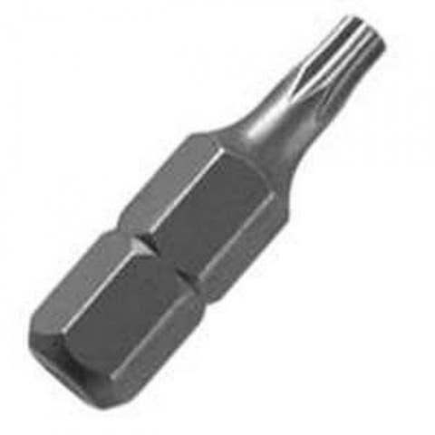 """Mibro 307751OR Star / Torx Steel Screwdriver Bit, Chrome, T30, 1"""""""