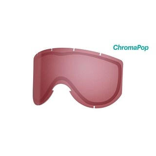Smith Optics Knowledge Turbo Goggle - Replacement Lens - ChromaPop Everyday Rose - KN5CPA2
