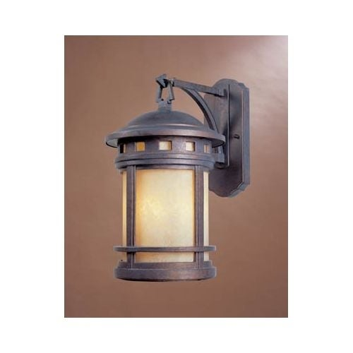 "Designers Fountain 2381-AM-MP 3 Light 9"" Cast Aluminum Wall Lantern from the Sedona Collection"